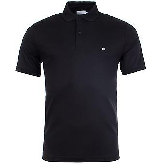 Calvin Klein Soft Interlock Logo Slim Polo Camicia