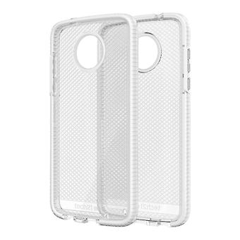 Tech21 Evo Check Case for Moto Z2 Play - Clear/White