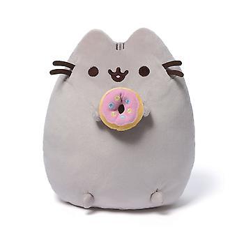 Pusheen Plys med doughnut