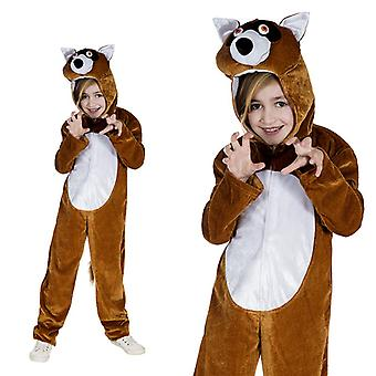 Fox Fox kostuum bos kinderen kostuum één stuk