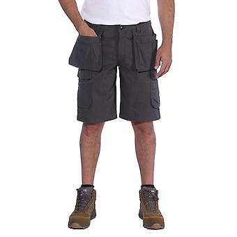 Carhartt Mens Steel Relaxed Fit Multipocket Cargo Shorts