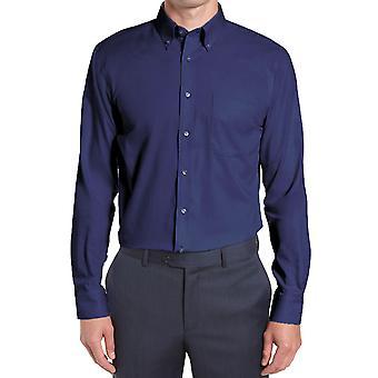 Gerade geschnitten geknöpft Kragen Shirt