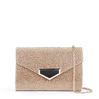 Paradox London PinkDamaris Woman Day ClutchGold (Champagne)4x11x17.5 Centimeters (W x H x L)