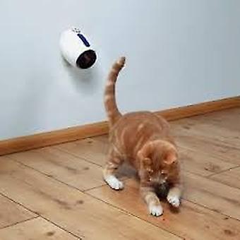 Trixie Ponteiro laser móvel, 11 cm, branco-azul (Gatos , Brinquedos , Movimento)