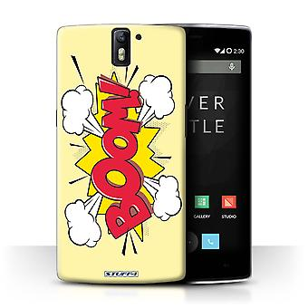 STUFF4 Case/Cover for OnePlus One/Boom!/Comics/Cartoon Words