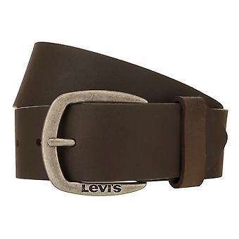 Levi's Belt Męski pasek Skórzany Pasek Jeans Belt Brązowy 8531