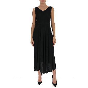 Issey Miyake Pleats Please Pp06jh60515 Women's Black Cotton Dress
