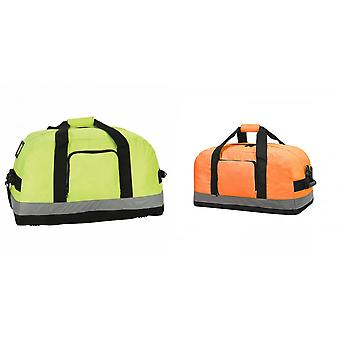Shugon Seattle Workwear Hi-Vis Holdall / Duffle Bag - 50 Litres