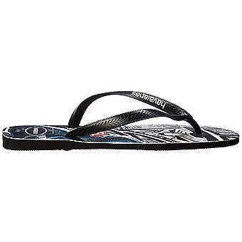 Havaianas Mens marvel Slip On Open Toe Flip Flops
