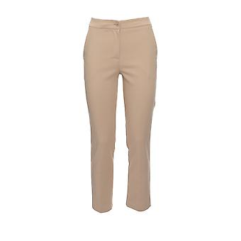 Twin-set 999tt201400353 Women's Beige Cotton Pants