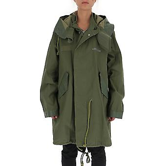 Ambush 12111792 Women's Green Polyester Outerwear Jacket