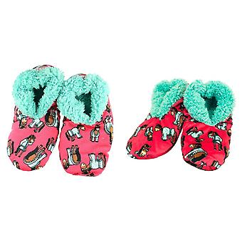 LazyOne Womens Don´t Do Morning Fuzzy Slippers
