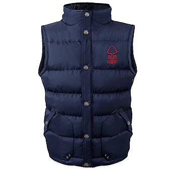 Nottingham Forest FC Official Gift Boys Padded Body Warmer Jacket Gilet