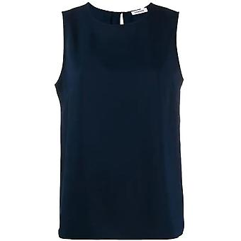 P.a.r.o.s.h. D310257012 Women's Blue Polyester Top