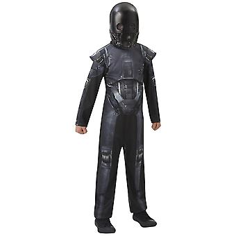 Star Wars Rogue One Childrens/Kids K-2SO Classic Costume