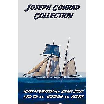 Joseph Conrad Collection Including Unabridged Heart of Darkness Secret Agent Lord Jim Nostromo Victory by Conrad & Joseph