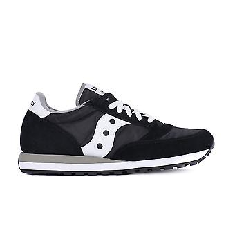 Saucony Jazz Black White 2044449 universal all year men shoes