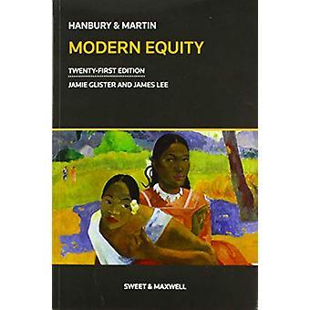 Hanbury & Martin - Modern Equity by Jamie Glister - 9780414060371