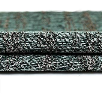 McAlister têxteis texturizado chenille Teal cortinas
