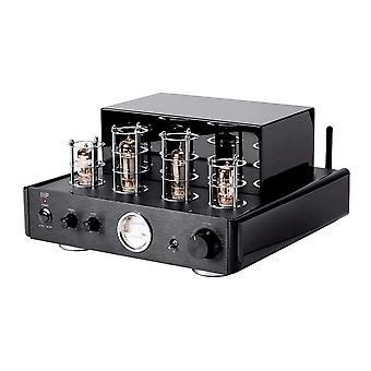 Hybrydowy wzmacniacz z napędem stereo o mocy 50 W z wyjściem Bluetooth i liniowym (EU) firmy Monoprice