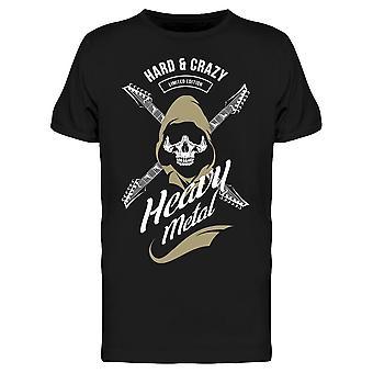 Hard And Crazy Heavy Metal Tee Men's -Kuva Shutterstock
