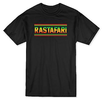 « Rastafari » mode citation Rasta T-shirt homme