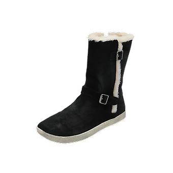 UGG K's Barley Kids Boots Black Lace-Up Boots Winter