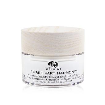 Three Part Harmony Nourishing Cream For Renewal Repair & Radiance - 50ml/1.7oz