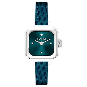 Katso ROCHET M206212-Lady LITTLE CUBE Box Steel Dial Blue Soleill
