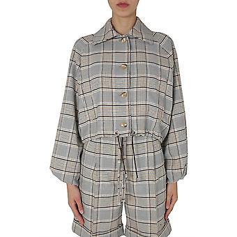 Baum Und Pferdgarten 20978c7736 Women's Grey Polyester Outerwear Jacket