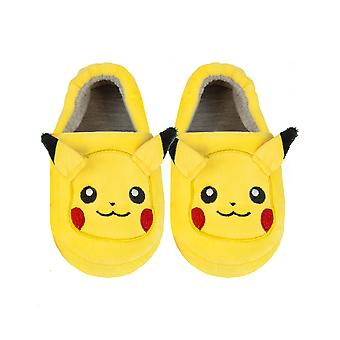Pokemon Pikachu Slippers for Boys and Girls 3D Character Kid's Footwear