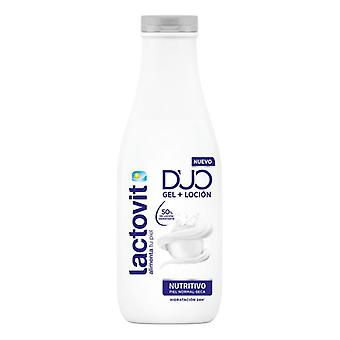 Shower Gel Duo Nutritivo Lactovit (600 ml)