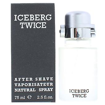 Iceberg deux fois Homme Aftershave Spray 75ml pour lui