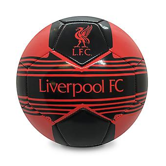 Liverpool FC Official Gift Size 4 Crest Football Red
