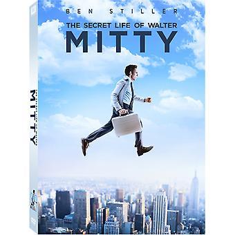 Secret Life of Walter Mitty [DVD] Yhdysvallat tuoda