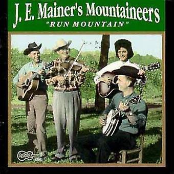J.E. Mainer & Mountaineers - Run Mountain [CD] USA import