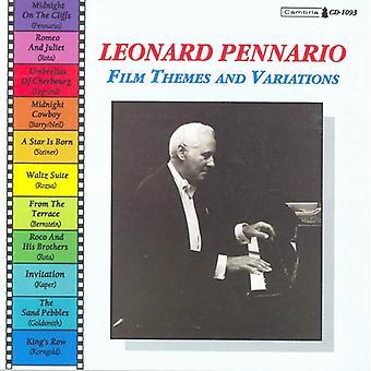 Leonard Pennario - Leonard Pennario: Film Themes and Variations [CD] USA import