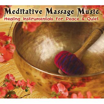 Meditative Massage Music - Healing Instrumentals for Peace & Quiet [CD] USA import