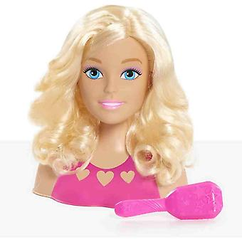 Barbie mini blonde style head for ages 3 and above