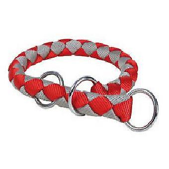 Trixie Strangler Cavo - Red/Silver (43-51 Cm)