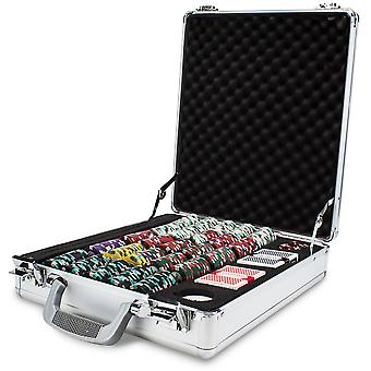 500ct Monaco Club Chip Set in Claysmith Aluminum Case