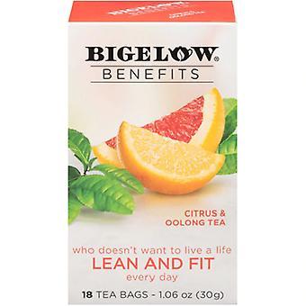 Bigelow Voordelen Lean en Fit Citrus & Oolong Thee