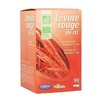Organic Red Rice Yeast 90 capsules