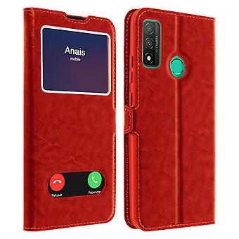 Back cover Huawei P smart 2020 Integral Double Window Red