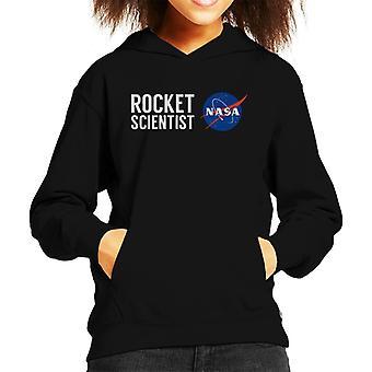 NASA Rocket Scientist Kid's Hooded Sweatshirt