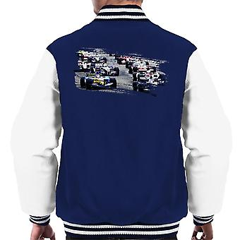 Motorsport Images San Marino GP 2005 Starting Shot Men-apos;s Veste Varsity