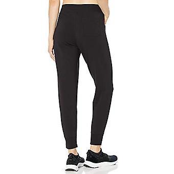 Core 10 Naiset&s Standard Cotton Modal Rento Fit Jogger Sweatpant, Musta, La...