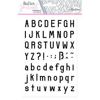 Aladine Bullet Journal Foam Timbres Alphabet 3