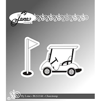 Tekijä Lene Golf Cart Clear Stamps