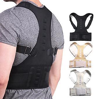 Adjustable Magnetic Posture Corrector - Corset Back Brace Back Belt Lumbar Support Straight Corrector For Men Women